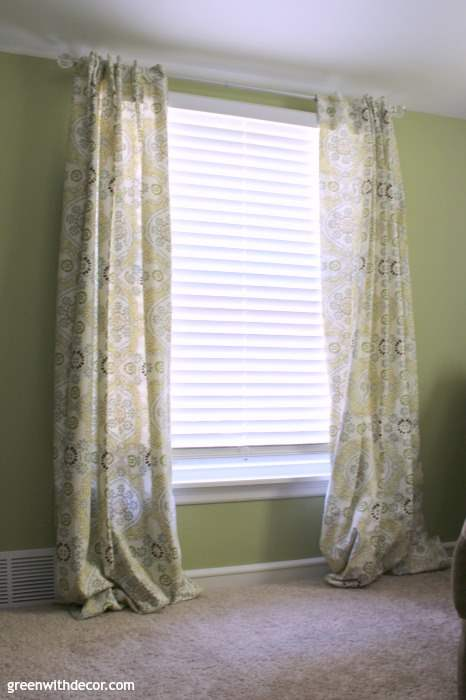 How to hem curtains. She breaks it down into such easy steps, even if you aren't really into sewing, you can handle this! Rooms just look so much better when curtains are the right length, I'm glad I found this tutorial.