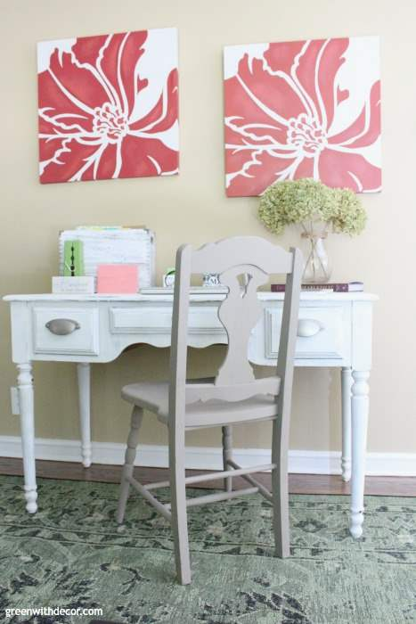 Tips for painting an old chair. Love these tips, I have to start painting old furniture more often!