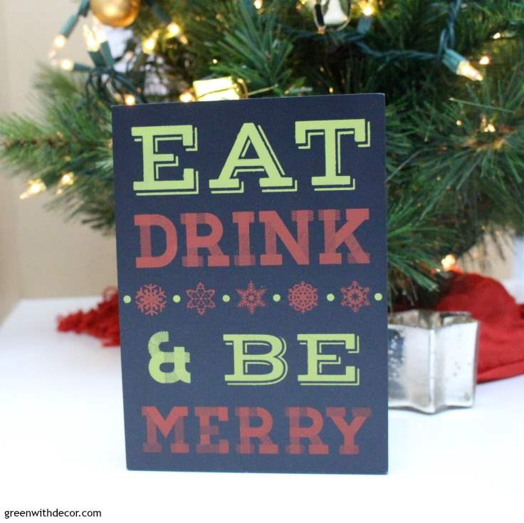 10 easy christmas decorating ideas in the kitchen and bathroom this blogger has great christmas