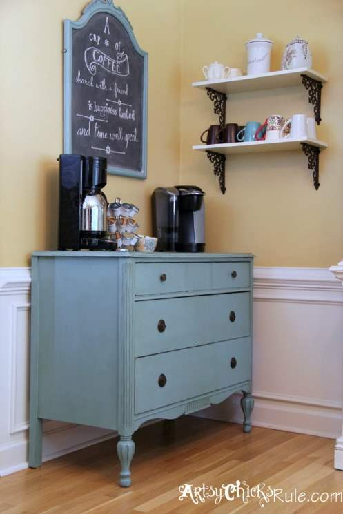 22 Colorful Dresser Makeovers Green With Decor