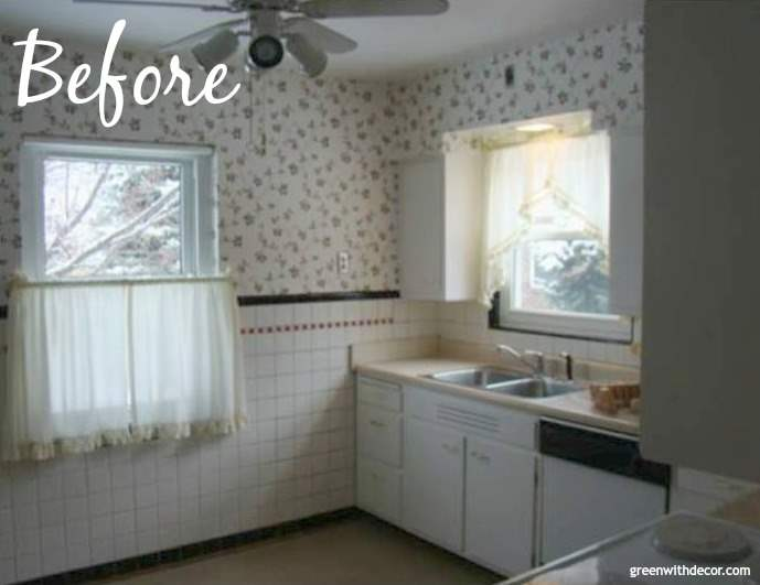 A house tour - they renovated the whole thing! Love the updated kitchen and bathroom.