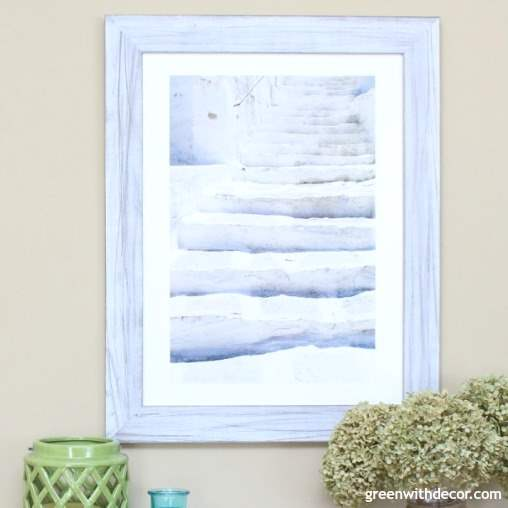How to choose the perfect wall art for your home | Gorgeous wall art options from independent artists + a discount code. Costal artwork | Beachy wall art | green and blue wall art | blue and green artwork | Paris photographs | beautiful wall decor | abstract watercolors