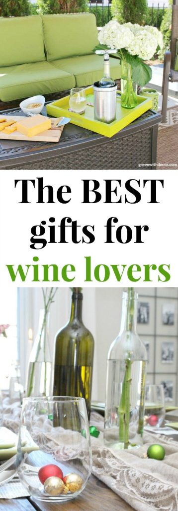 The best gifts for the wine lover! These are so fun. Love the wine fridge, wine cooler and those cute wine socks. Saving this for Mother's Day and Christmas ideas for mom and grandma!