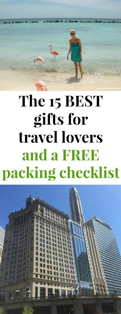 A great list of travel accessories for anyone who loves to travel! Plus a FREE packing checklist for clothes, technology, weddings, beach vacations, winter vacations and more. Never forget anything again!