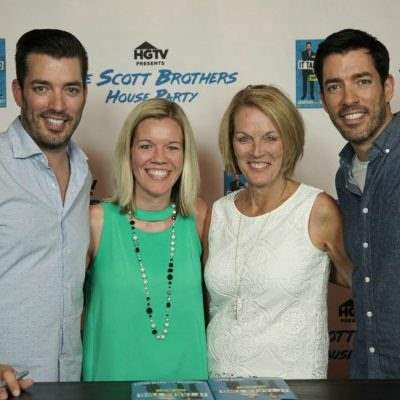 Meeting Jonathan and Drew from the Property Brothers from HGTV