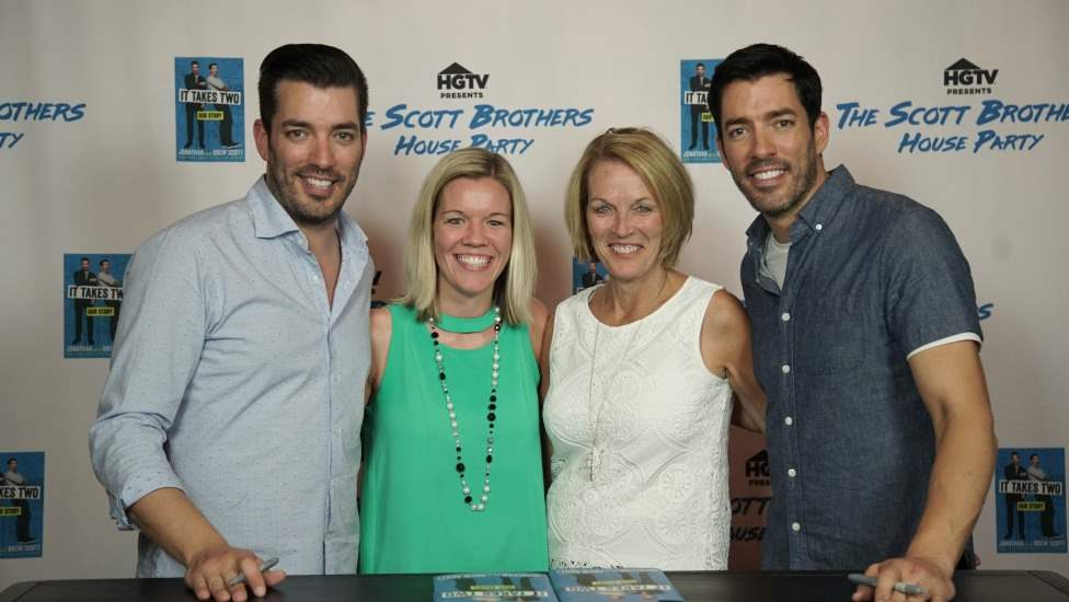 Meeting the Property Brothers from HGTV