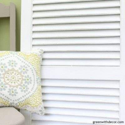 How to paint and distress an old shutter - a great tutorial for using Dixie Bell! paint and finishes!