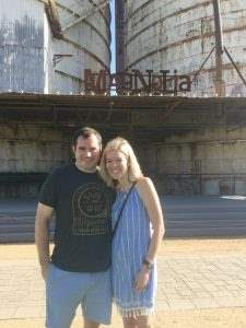 Our trip to Magnolia Market, hanging in the yard by the silos!