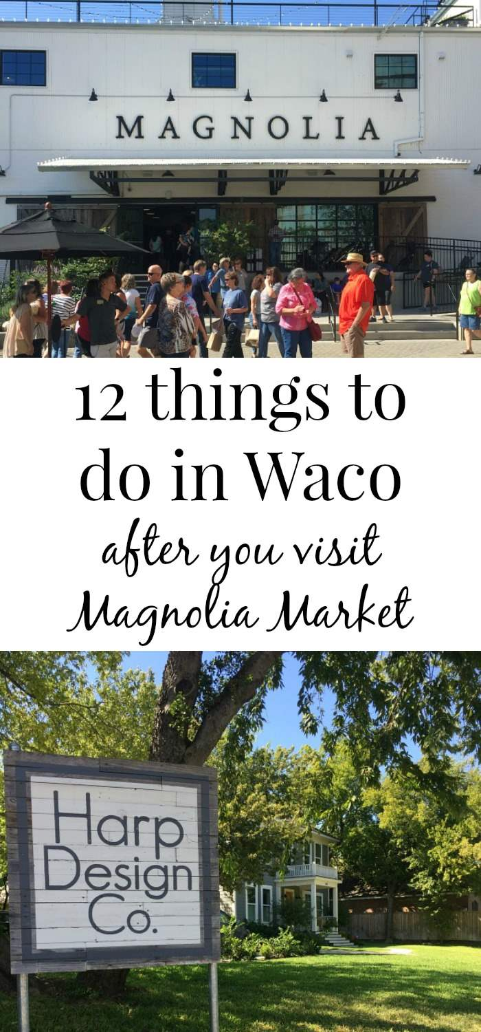Things do in waco after magnolia market banner green for Local home decor stores