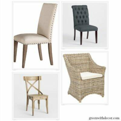 Gorgeous coastal dining chairs