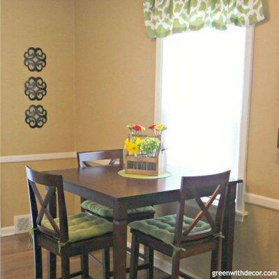 A fast and easy way to fix nicks in furniture. I fixed my dining room table in 10 minutes!