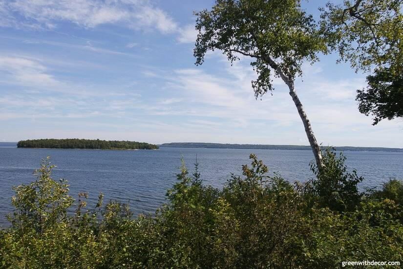 Things to do in Door County – pretty views at Peninsula State Park