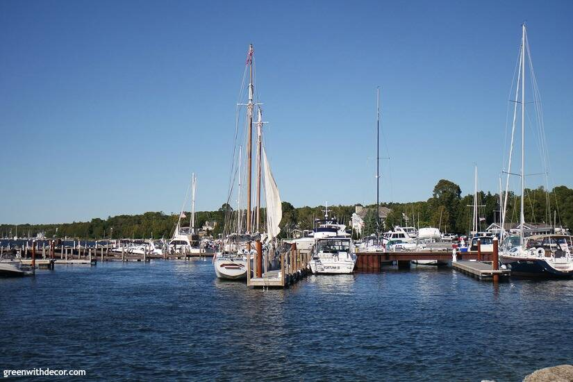 Things to do in Door County, Wisconsin – sailboats near the lake