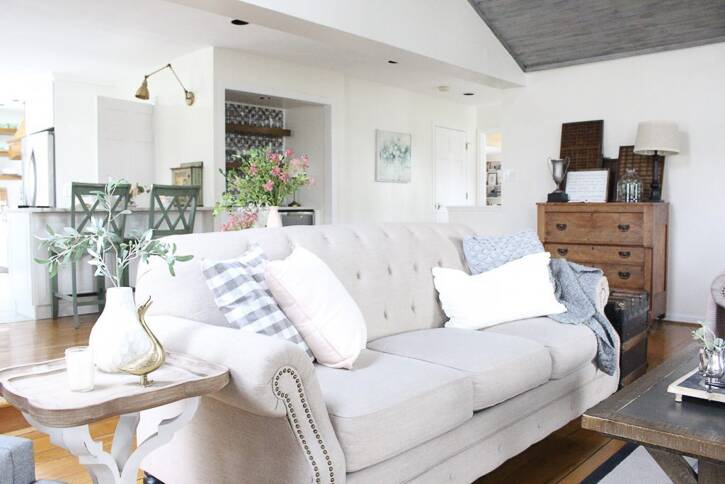 The Best White Paint Colors   Living Room