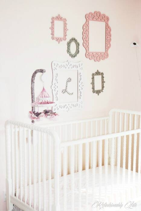 Nursery painted with White Dogwood
