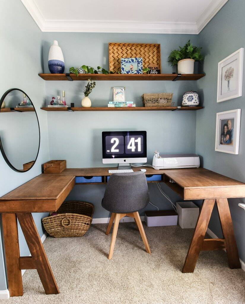 Charleston Crafted home office
